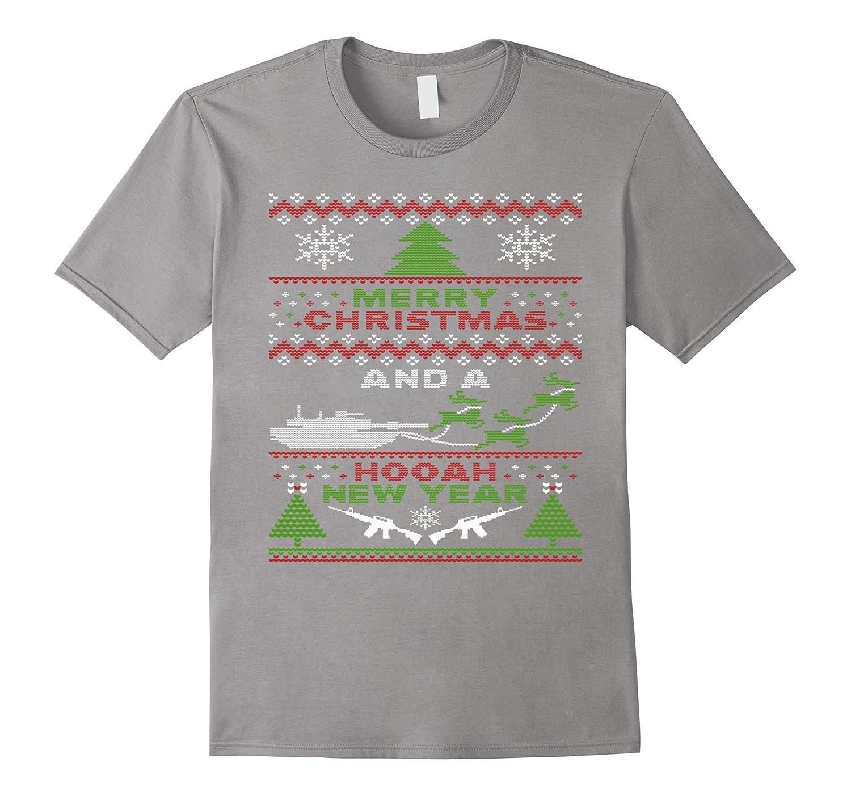 15bba705f Military Ugly Christmas Sweater Tanks Guns Hooah-Art – Artvinatee