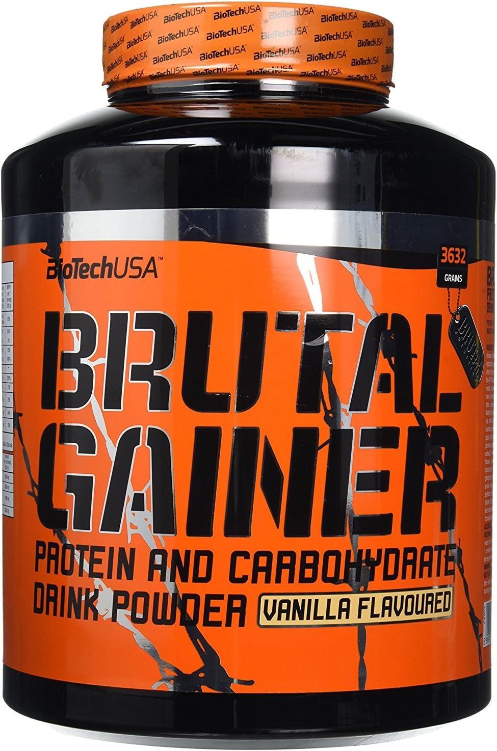 Biotech USA Gainer Brutal Nutrition Sabor Vainilla - 3632 gr ...