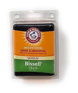 Arm & Hammer Bissell 7 & 8 Vacuum Filter. Odor Elimination! 62627