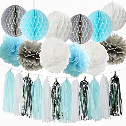 Amazon Qians Party Baby Boy Baby Shower Decorations Baby