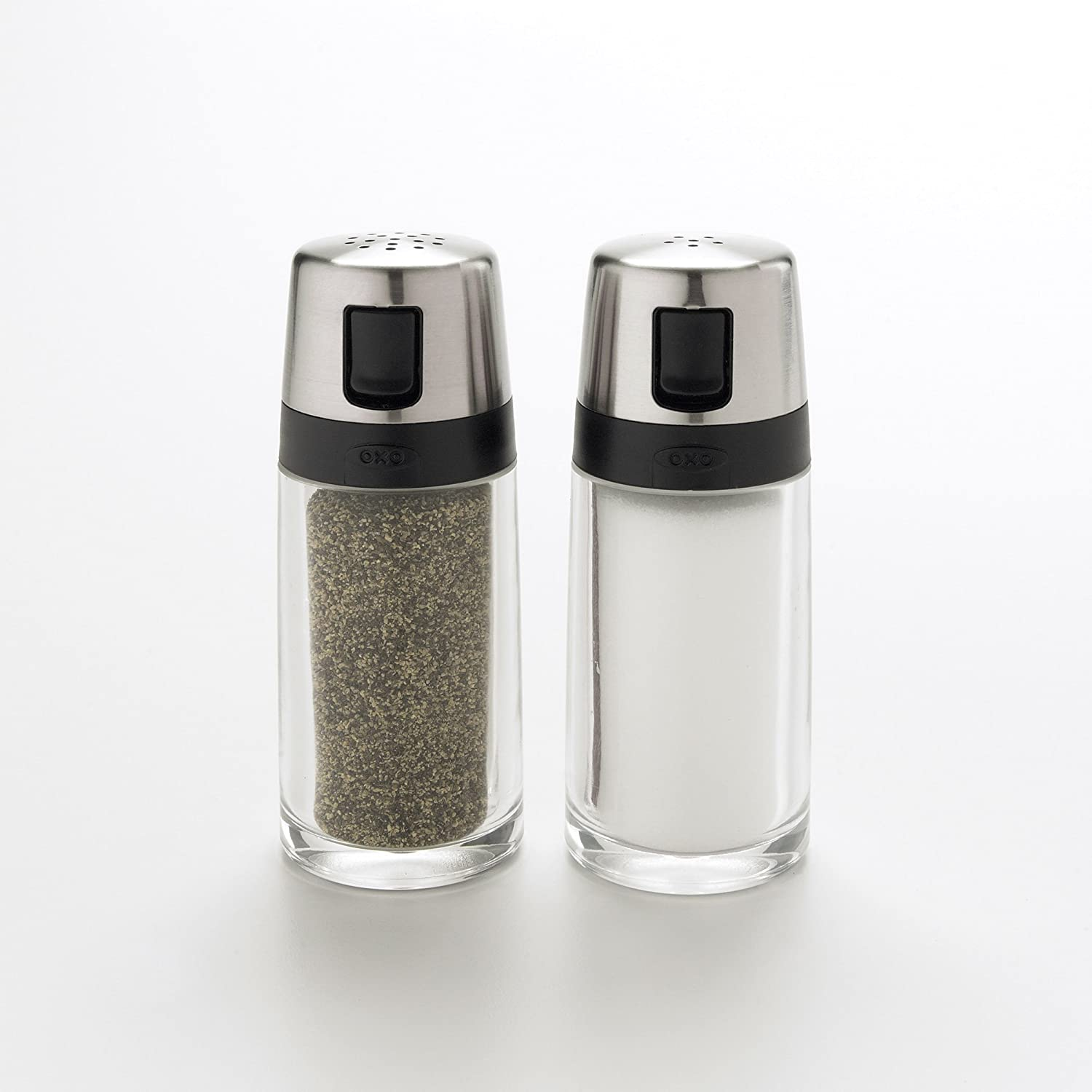 Amazon.com: OXO Good Grips Salt And Pepper Shaker Set With Pour Spouts:  Kitchen U0026 Dining