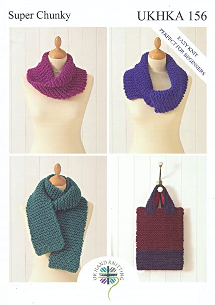 Amazon Super Chunky Knitting Pattern For Easy Knit Ladies