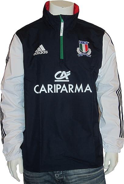 adidas Italie Essential Full Zip Rugby Wind Veste Veste