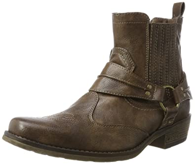 Santiags Stiefelette Mustang Chaussures Homme Western qgnZPB