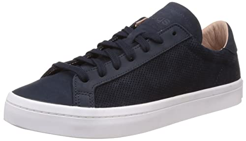 online store d5652 e6aa4 adidas Originals Mens Courtvantage Dark Blue Sneakers - 11 UK