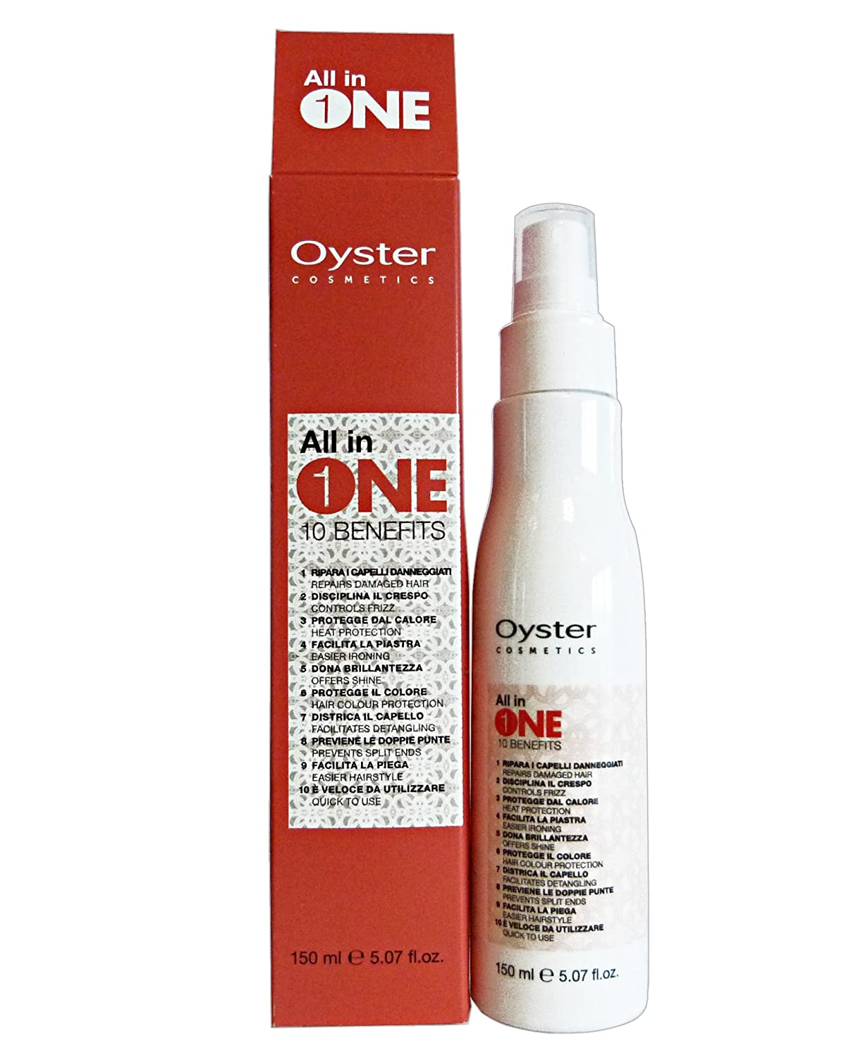OYSTER Professionale Maschera Spray ALL In 1 150 Ml. Haircare 8021694000994