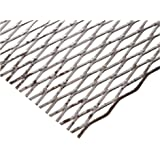 Carbon Steel Flat Expanded Sheet, Unpolished (Mill) Finish, Inch