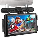 Tablet Car Headrest Mount Holder with 360 Degrees Rotation for Nintendo Switch,iPad,iPad air,iphoneX,iphone 8/7,Samsung Galaxy S8,S8 plus,and more...(The Second Generation)