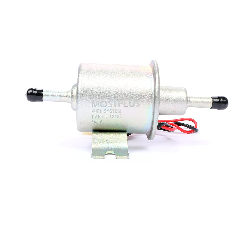 MOSTPLUS Electric Fuel Pump For Motorcycle Low Pressure 12V Carburetor ATV NCP