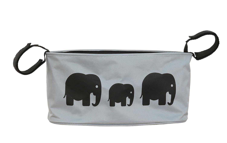 BundleBean Buggy / Stroller organiser, storage bag, nappy pouch - fits to handlebar of any pushchair/buggy/stroller (Sand Gecko) BBBOGEK
