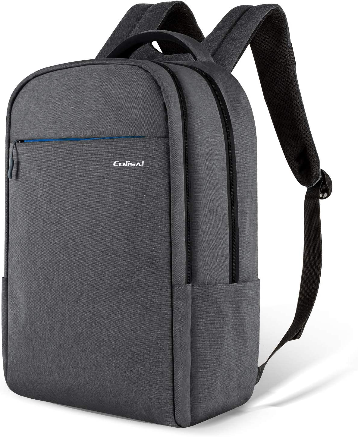 Colisal Travel Laptop Backpack 15 6 Inch Computer Backpack For Men Women Professional Business Backpack Students School Rucksack Lightweight Casual Daypack For Outdoor And Travel 25l Darkgrey Amazon Co Uk Diy Tools