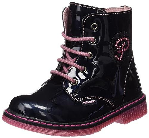 Pablosky 094329 - Botas niñas, color azul, talla 25: Amazon.es: Zapatos y complementos