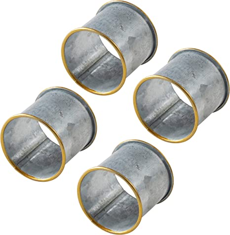 BN1125043PP PAX 10 round 25 mm quality platinum silver colored metal ring Supports