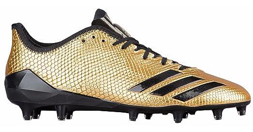 gold adidas football shoes