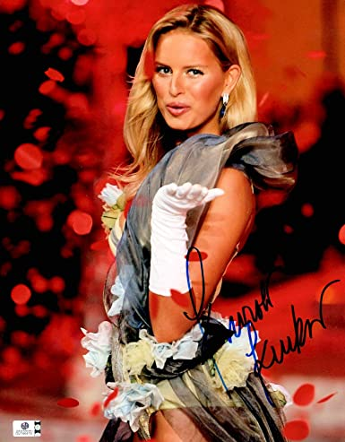 1d48b993d6 Karolina Kurkova Signed Autographed 11X14 Photo Victoria s Secret Sexy  GV746419 at Amazon s Entertainment Collectibles Store