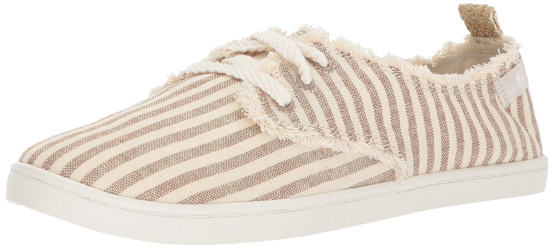 Sanuk Women's Maisie Sneaker B07221742M 07.5 M US|Natural Stripes