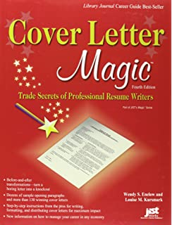 cover letter magic 4th ed trade secrets of professional resume writers
