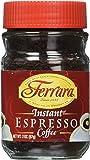 Ferrara Instant Espresso Coffee - Pack of 3 (2 oz each jar)