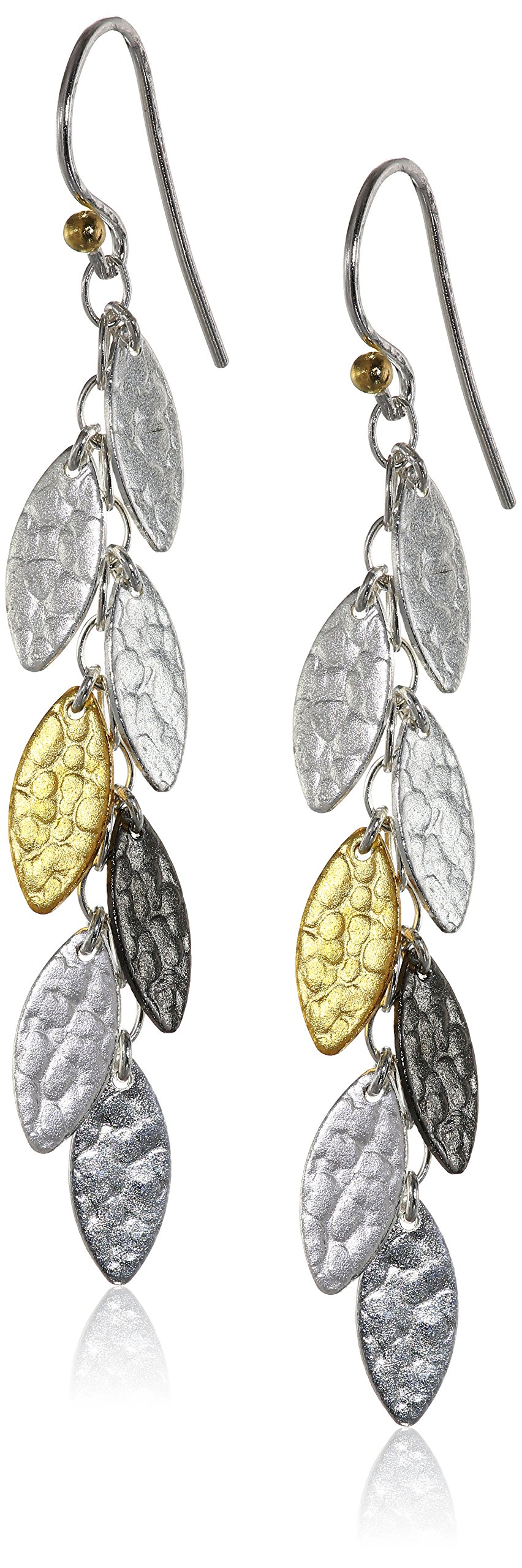 GURHAN ''Willow Mini'' Sterling Silver Hook Earrings