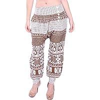 Village Venture Pantalón Estampado de Corte Amplio Fresco y Casual (Unitalla) Mod 6253