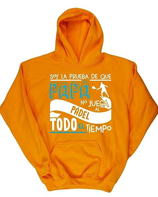 HippoWarehouse Soy La Prueba de Que Papá No Juega al Pádel Todo El Tiempo jersey sudadera suéter derportiva unisex niños niñas: Amazon.es: Ropa y accesorios