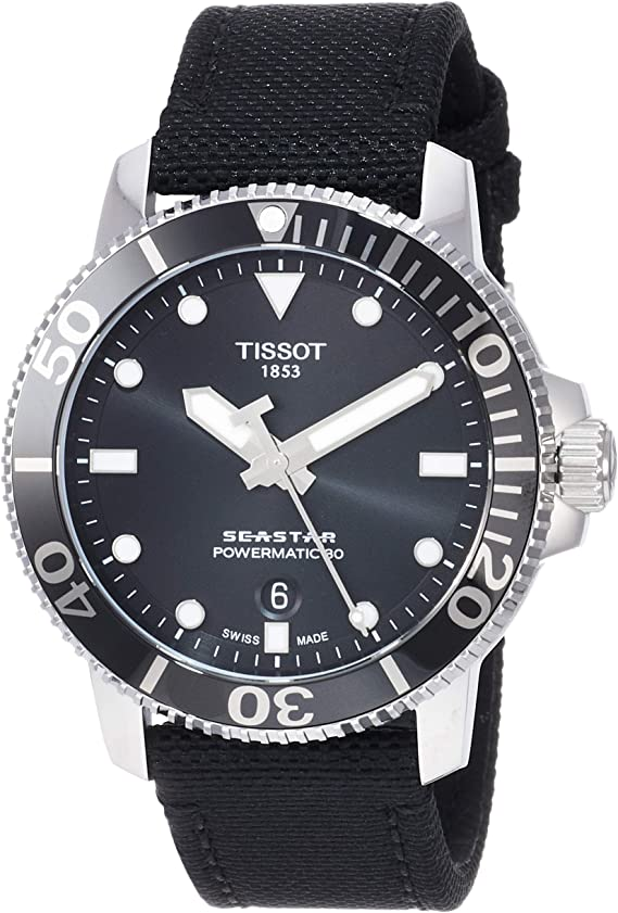 Tissot Seastar 1000 Automatic Black Dial Men's Watch T120.407.17.051.00