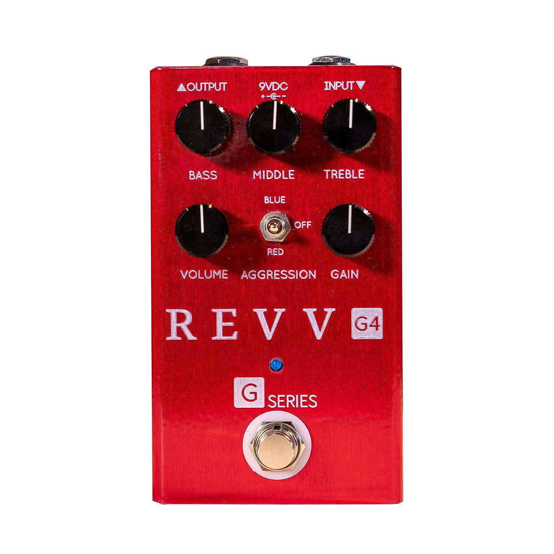 Revv Amplification G4 Distortion /& Overdrive Pedal