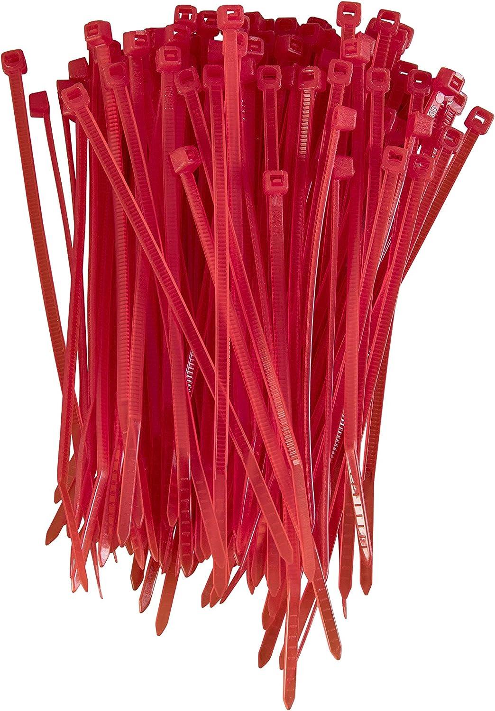 verde /430/mm x 9.0/mm Premium Tie Wraps/ /Alta calidad fuerte nylon Zip Ties por gocableties 100/unidades de Heavy Duty bridas para cables/