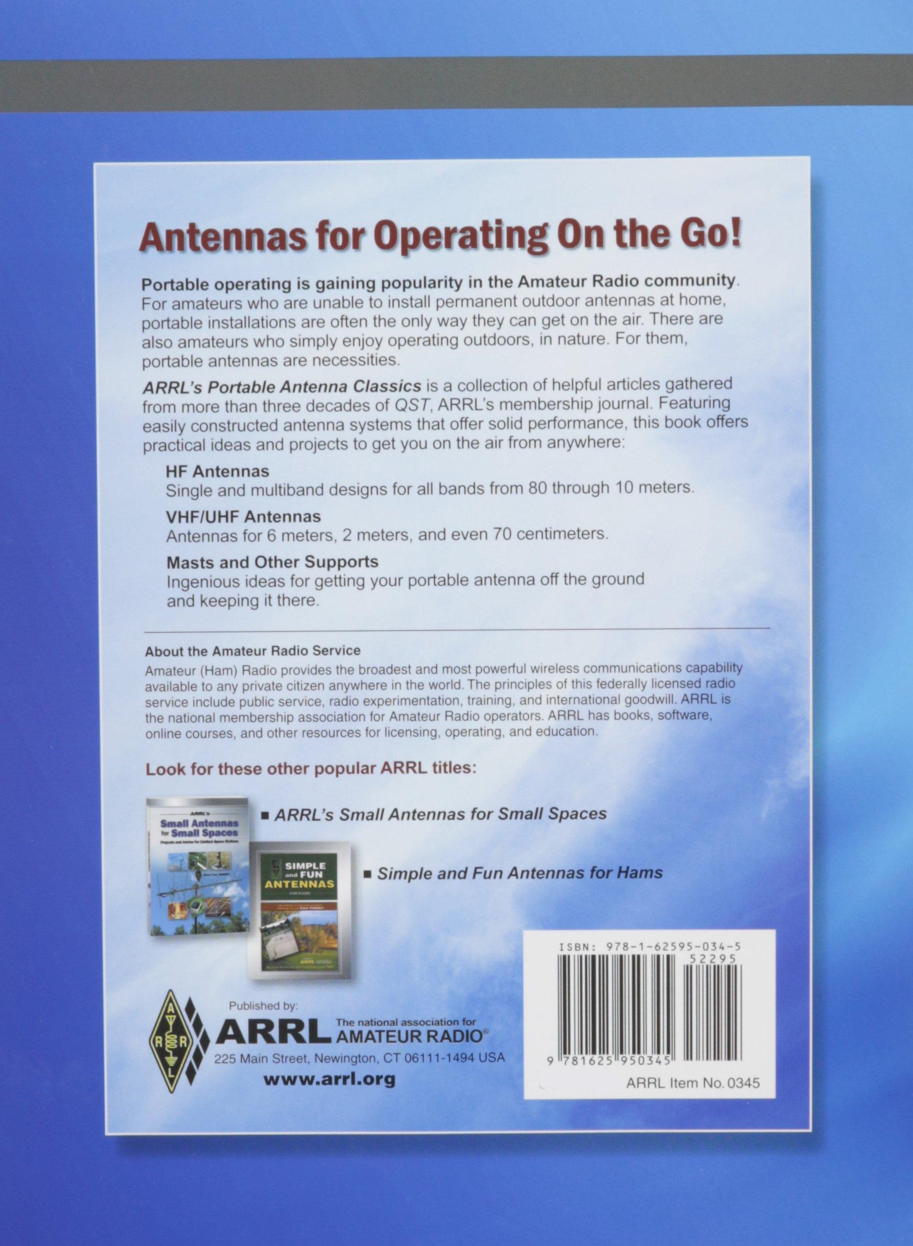 ARRL Portable Antenna Classics: ARRL Inc : 9781625950345