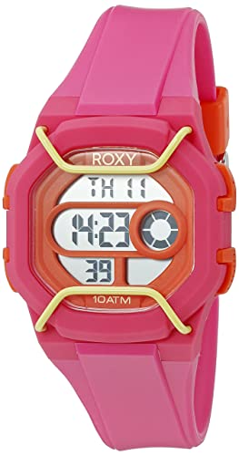 Para mujer Roxy The Digital protector de Coronado controls reloj infantil con mecanismo de pantalla Digital y rosa correa de silicona RX/1015pkor: ...