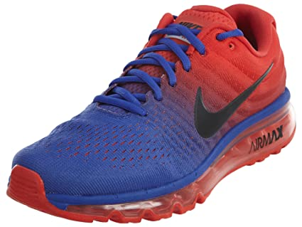 84bbdf1b12884 Amazon.com: Nike 2017 Mens Air Max - Blue - Size 9: Sports & Outdoors