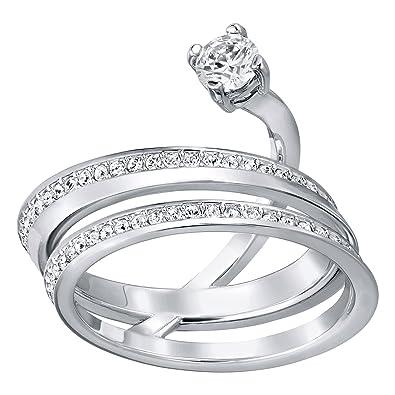 4dff1150c Swarovski 5257542 Fresh Ring Size 58: Amazon.co.uk: Jewellery