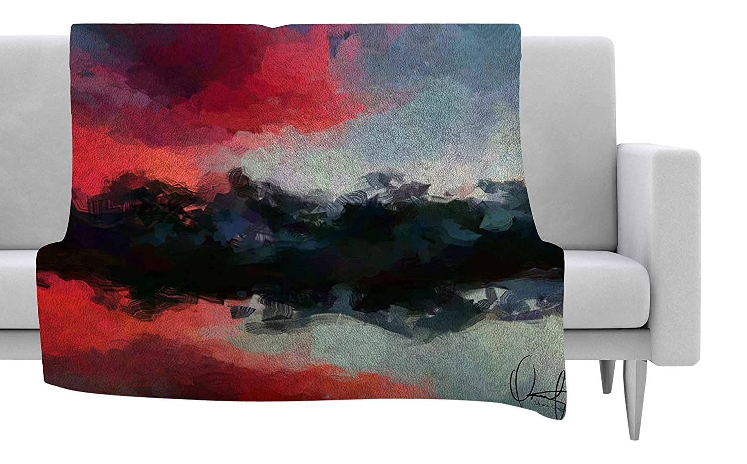 Insert Side Sofa Throw Pillow 20 Designart Cu14667 20 20 C Loch Lomond Jetty And Mountains Landscape Printed Round Cushion Cover For Living Room Throw Pillow Covers