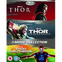 Deals on Thor: 3-Movie Collection Blu-Ray