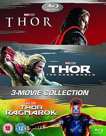 Amazon com: Thor 1-3 Box Set BD [Blu-ray] [2017] [Region