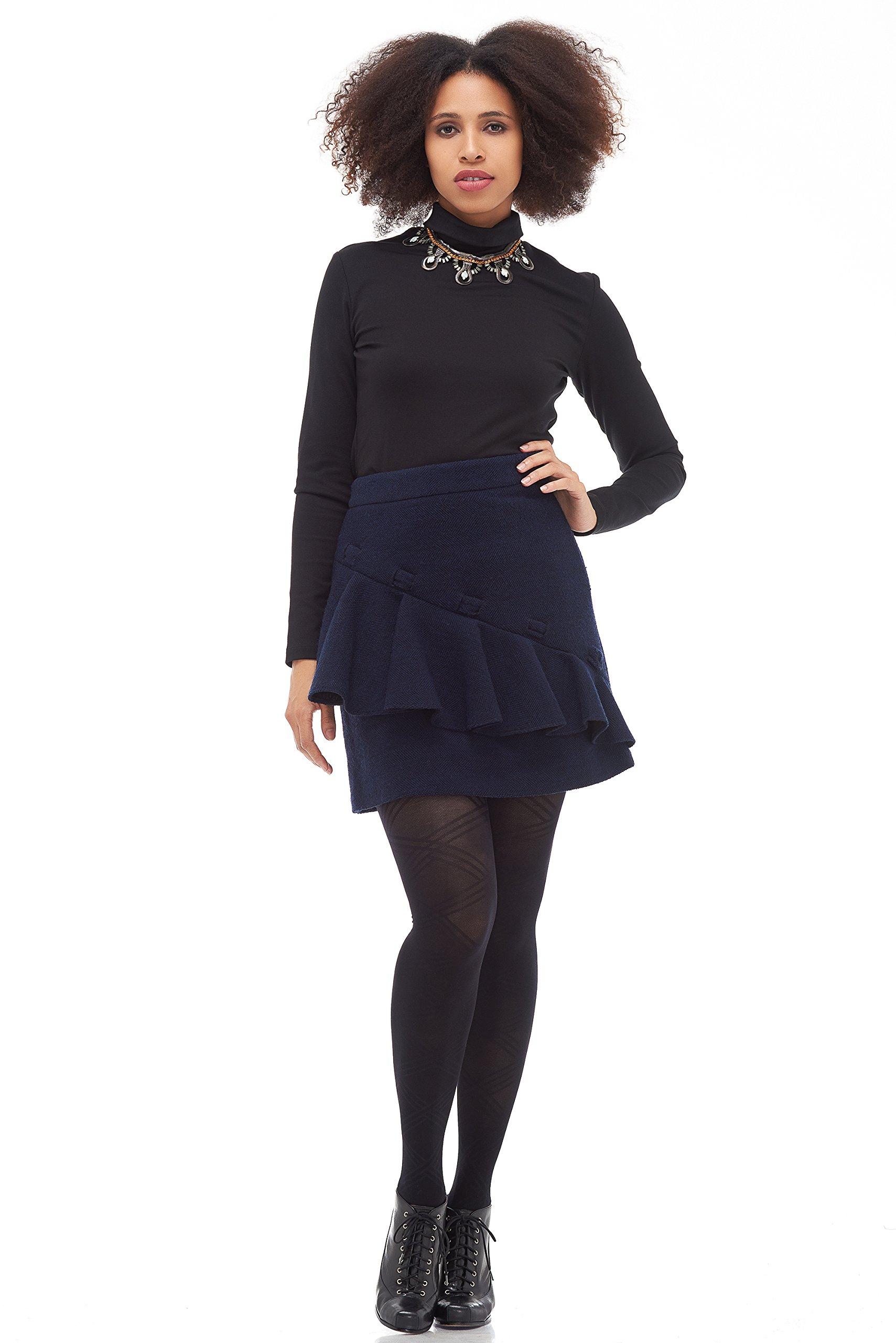 CULTRO Women's - Lucy Ruffle Short Skirt