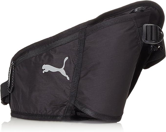 PUMA PR Bottle Waist Bag, Black, 28 x 18 x 9 cm, 0.5 Liter, 073575 01: Amazon.es: Deportes y aire libre
