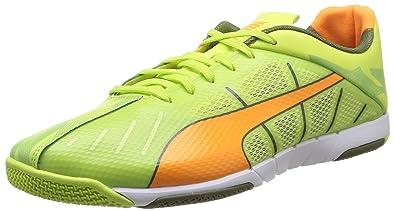 Puma 103236/01, Herren Fußballschuhe Grün Vert (Green/Orange/Olive/White) 41