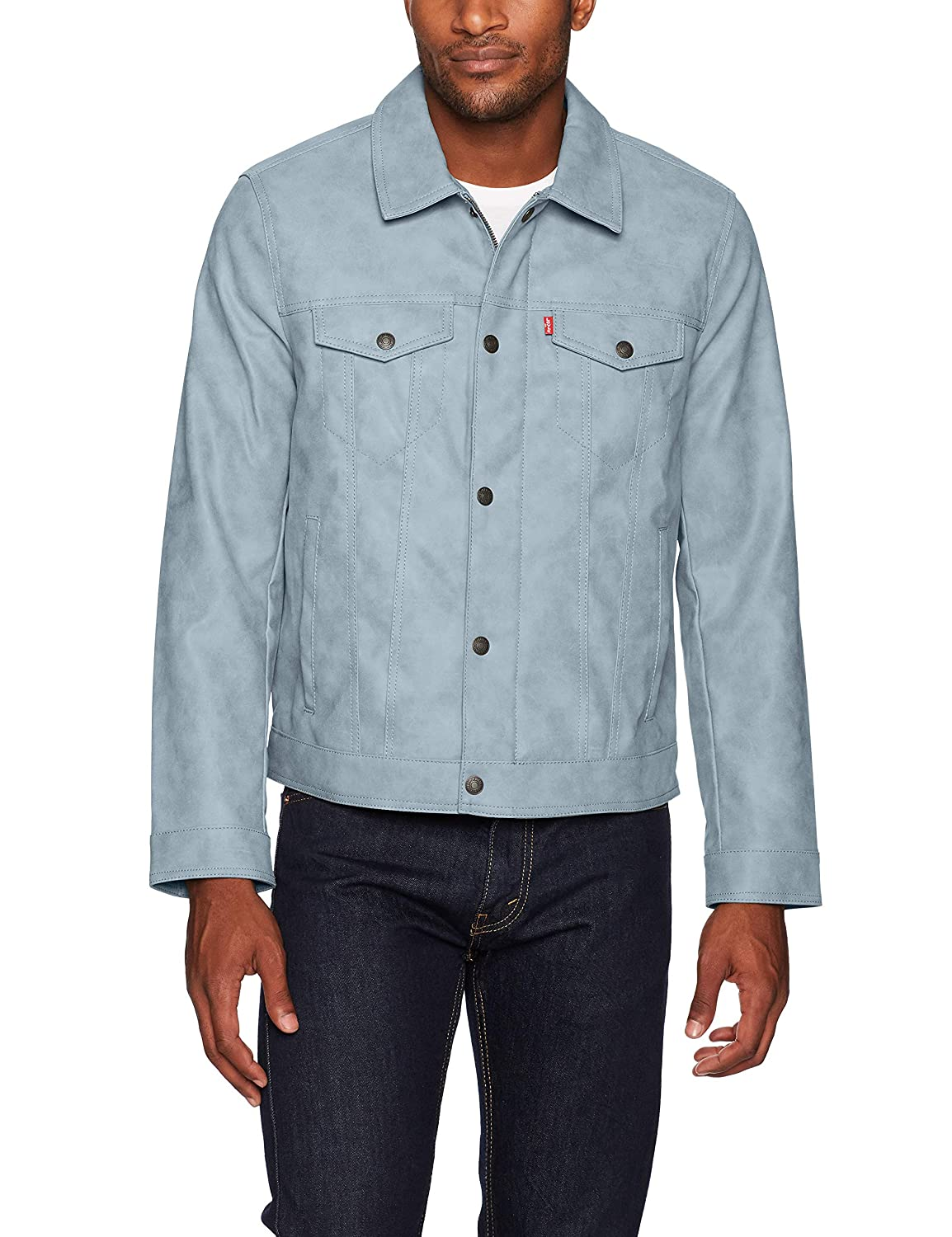Levi's Men's Suede Touch Trucker Jacket LM7RS856