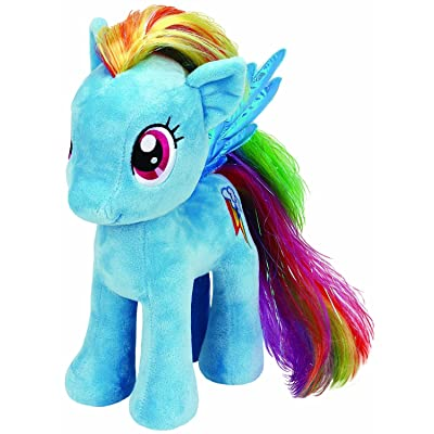 Ty 90205 UK 10-inch My Little Pony Rainbow Dash Buddy: Toys & Games