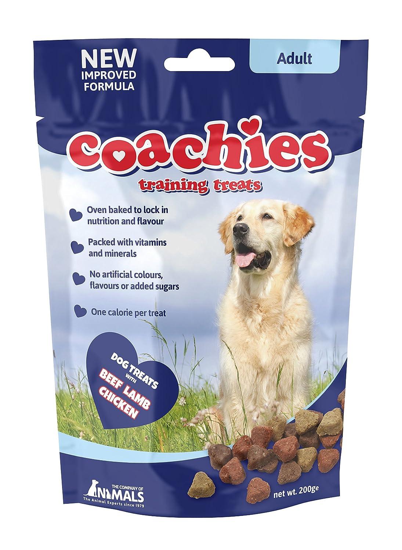 Company of Animals Coachies Friandises pour Chien Adulte Sachet de 200 g TCAP