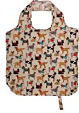 """Ulster Weavers 13.4"""" x 4.5"""" x 14"""" Hound Dog Packable Bag, Fabric, Multicolor"""