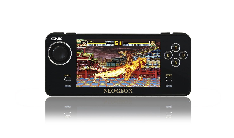 Neo Geo - Consola X Gold Limited Edition (Incluye 20 Juegos ...