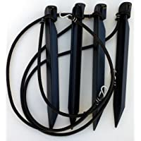 Home Court Volleyball Boundary Bungee Anchor Sets
