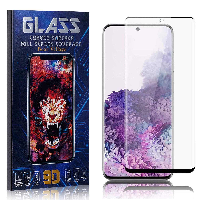 Anti Scratch Fingerprint Proof Bear Village HD Screen Protector Film for Samsung Galaxy S20 Tempered Glass Screen Protector for Galaxy S20 2 Pack