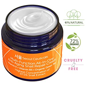 Korean Skin Care Snail Repair Cream