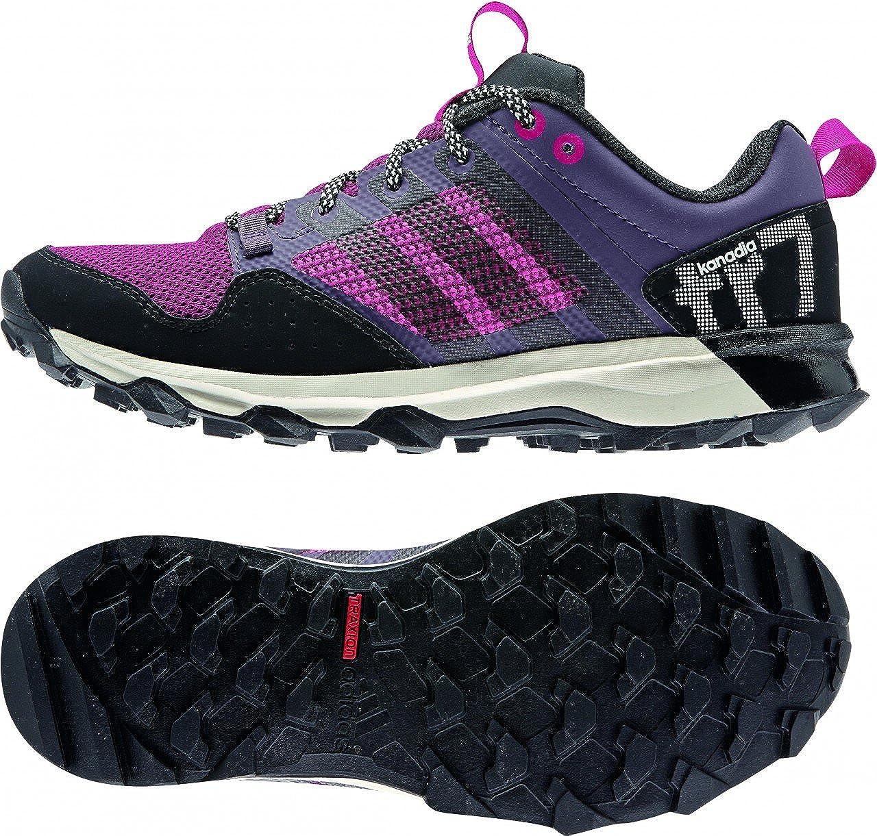 adidas Kanadia 7 TR W - Zapatillas para Mujer, Color Morado/Negro/Rosa, Talla 44 2/3: Amazon.es: Zapatos y complementos