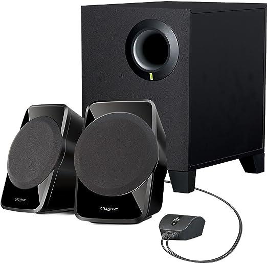 Creative SBS A 120 2.1 Channel Multimedia Speaker System  Black  Multimedia Speaker Systems