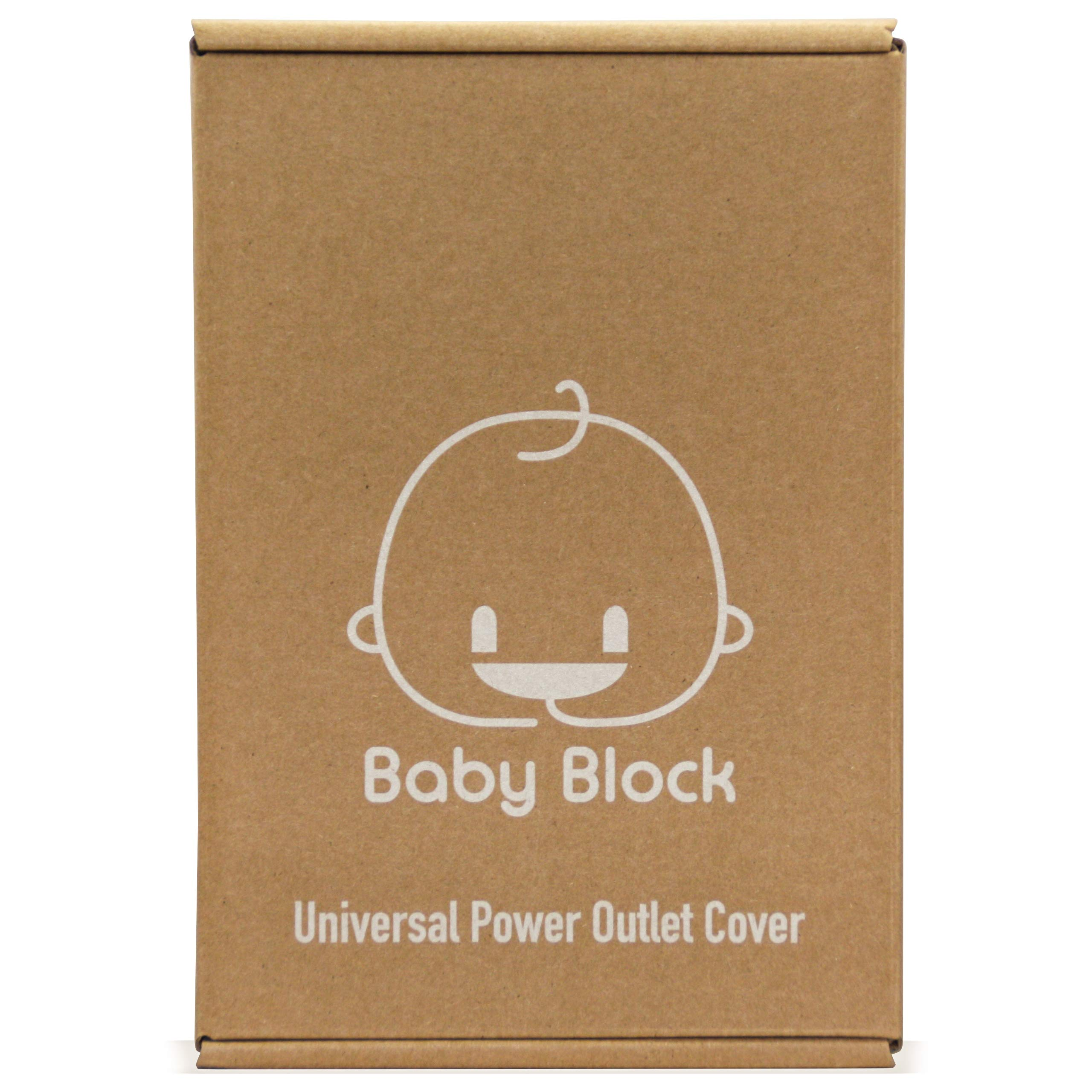 New: Universal Electric Outlet Cover | Child Safety & Baby Proofing | Protect Power Outlets, Wall Sockets and Plugs by Baby Block (Image #8)