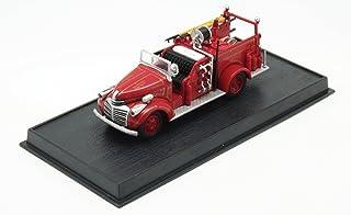 GMC USA - 1941 diecast 1:87 fire truck model (Amercom SF-59)